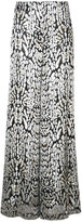 ADAM by Adam Lippes brocade wide-leg pants - women - Viscose - 2