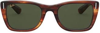 Ray-Ban Rb2248 Striped Havana Sunglasses