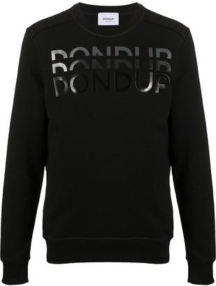 Dondup Logo Print Round Neck Jumper