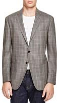 Todd Snyder Silk Wool Plaid Slim Fit Sport Coat