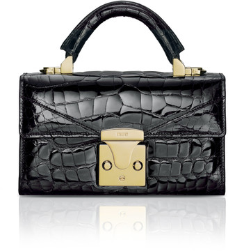 Stalvey Mini Alligator Top Handle Bag