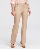Ann Taylor Kate Cotton Twill Flare Trousers