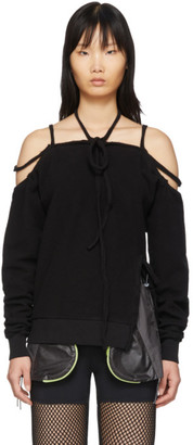 Ottolinger Black Halter Sweatshirt