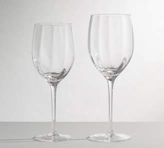 Pottery Barn Optic Wine Glasses