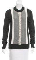 Vera Wang Embellished Wool Sweater