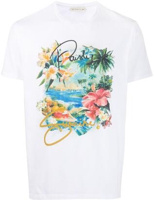 Etro floral print short-sleeve T-shirt