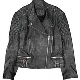 Christopher Kane Grey Leather Leather Jacket for Women