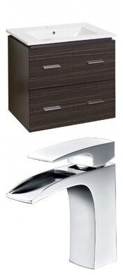 """Orren Ellis Kyra Modern 24"""" Single Bathroom Vanity Set with 2 Drawers Orren Ellis"""