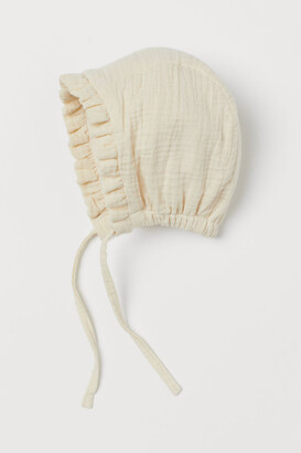 H&M Cotton Hat - Beige
