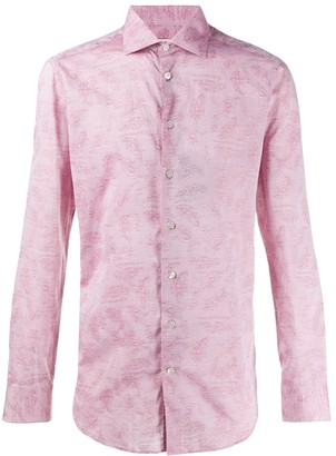 Etro Paisley-Jacquard Shirt