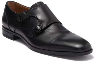 BOSS Kensington Double Monk Leather Dress Shoe