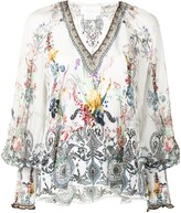 Thumbnail for your product : Camilla Floral-Print Blouse
