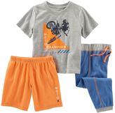 Osh Kosh Toddler Boy Print 3-Piece Pajama Set