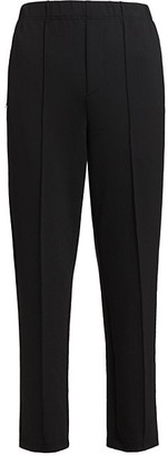 Issey Miyake Seamed Jersey Trousers