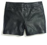 Won Hundred Leather Demure Shorts