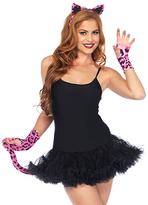 Leg Avenue Neon Pink Leopard Costume Set