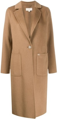 MICHAEL Michael Kors Single-Breasted Tailored Coat