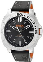 HUGO BOSS BOSS Orange Men's 1513295 Sao Paulo Analog Display Japanese Quartz Black Watch