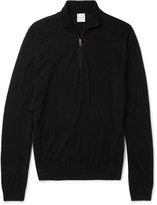Paul Smith - Slim-fit Funnel-neck Merino Wool Half-zip Sweater