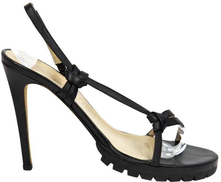 Gianni Versace Leather heels