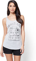 "New York & Co. ""Adventure With Me"" Graphic Logo Tank Top"