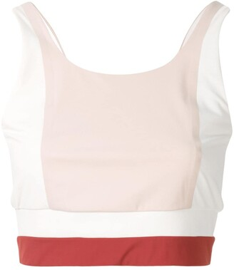 Vaara Poppy cropped top