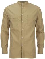 Universal Works Poplin Stoke Shirt Camel