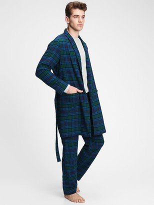 Gap Flannel Robe
