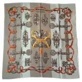 Hermes Silk Scarf