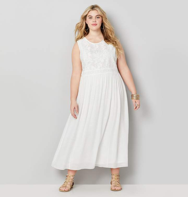 Plus Size White Evening Dresses - ShopStyle