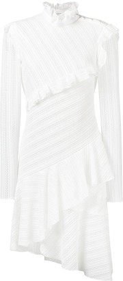 Philosophy di Lorenzo Serafini Diagonal Lace Asymmetric Dress
