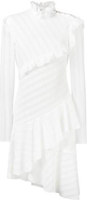 Philosophy di Lorenzo Serafini diagonal lace asymmetric dress