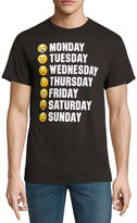 NOVELTY PROMOTIONAL Days of the Week Faces SS Tee