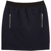 Petit Bateau Women's short skirt in padded tubic jersey