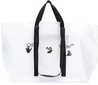 Off-White Logo-Print Tote