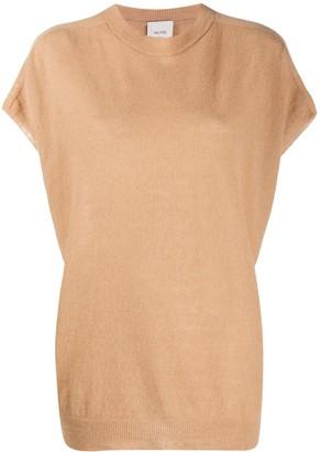 Alysi Oversized Shortsleeved Knitted Top