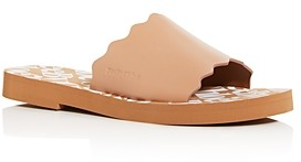 See by Chloe Women's Essie Scalloped Slide Sandals