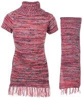 """Dollhouse Big Girls' """"Grayson"""" Sweater Dress with Scarf - , 7-8"""