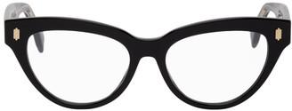Fendi Black Cat-Eye Glasses