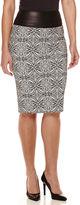 Bisou Bisou Jacquard Skirt