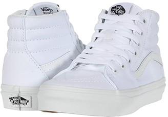Vans Kids SK8-Hi (Little Kid) (True White/True White) Kids Shoes