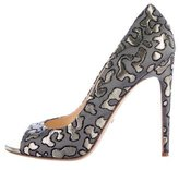 Jerome C. Rousseau Nuit Peep-Toe Pumps