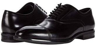 Kenneth Cole New York Futurepod Lace-Up Cap Toe (Black) Men's Shoes