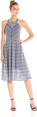 Rachel Roy Women's Lace Fit and Flare Midi