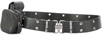 Christian Dior Pre-Owned saddle street chic belt