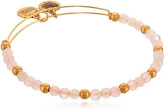 Alex and Ani Color Classics Fairy Expandable Beaded Bracelet Rafaelian Gold-Tone