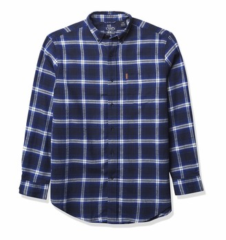 Chaps Men's Big & Tall Big Long Sleeve Performance Flannel Shirt