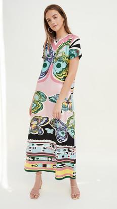 La DoubleJ Silk Swing Dress