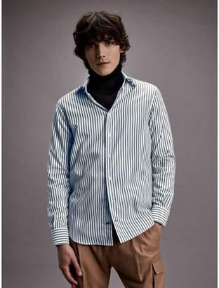 Tommy Hilfiger Slim Fit Textured Dobby Dress Shirt