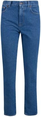 Off-White Denim Straight Leg Jeans
